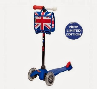The union jack limited edition micro scooter