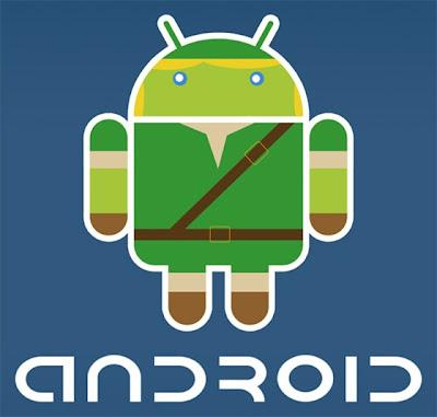 Imagen de la mascota de Android - Zelda