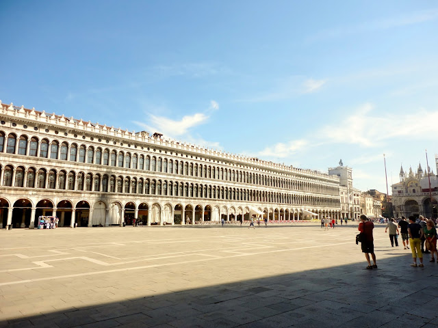 The Procuratie building in Piazza San Marco, Venice, Italy