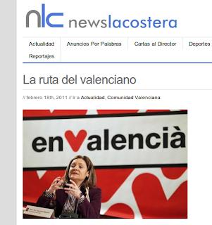 Molta gestualitat pel valencià