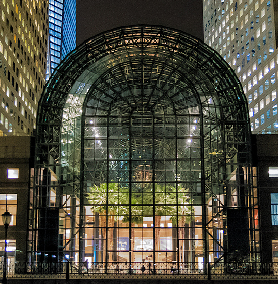 Urban Gadabout: New palm trees for the World Financial Center's breathtaking Winter Garden