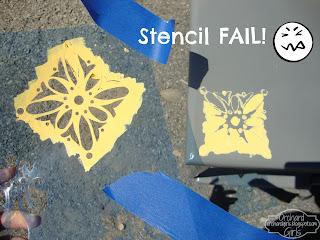 Stencil Fail