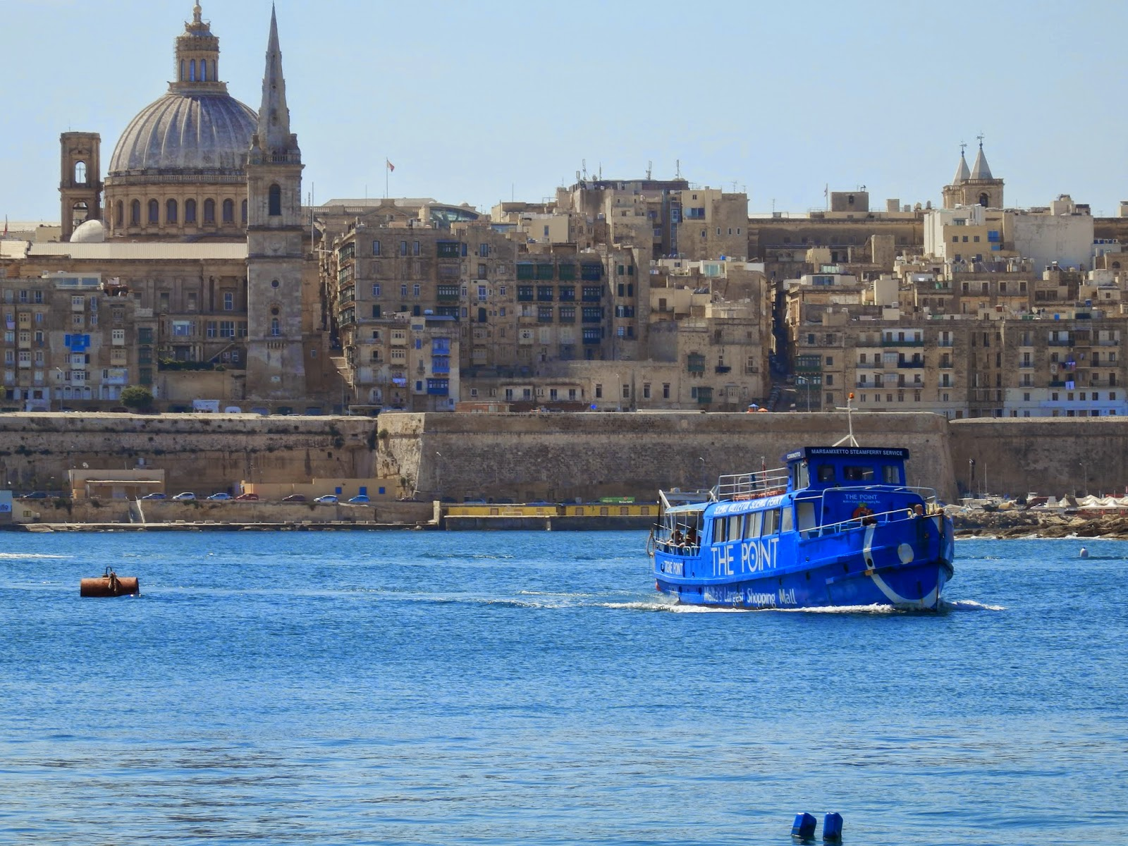 Passenger ferry to Valletta Malta