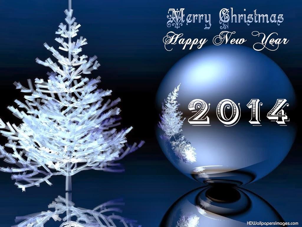 Wallpaper Natal dan Tahun baru 2014