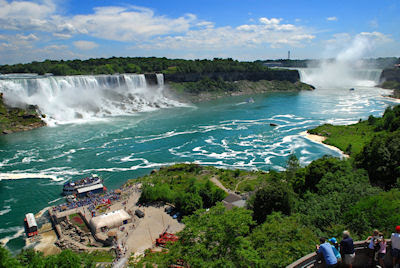 Cataratas del Nigara - Falls (Vista General en Toronto)