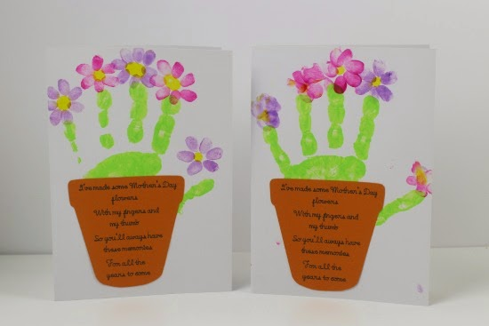 A thrifty mum 5 things i have done this week to save for Mothers day cards from preschoolers