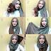 Contoh Tutorial Hijab Modern Tanpa Inner Ninja