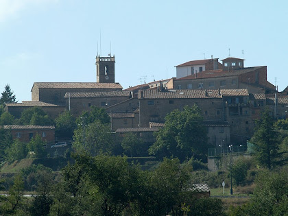 Casserres des del nou vial a Gironella