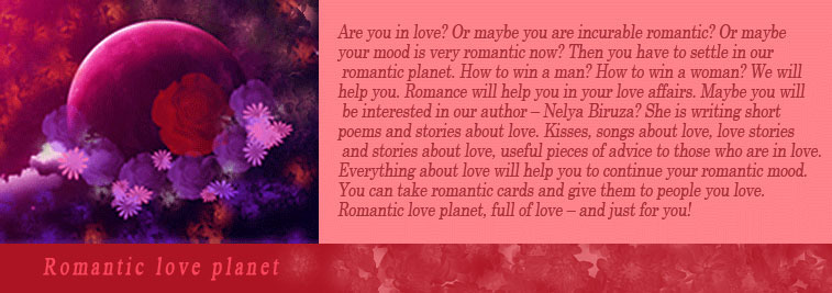 Romantic love planet