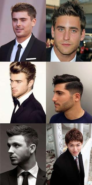 gambar potongan rambut pendek pria
