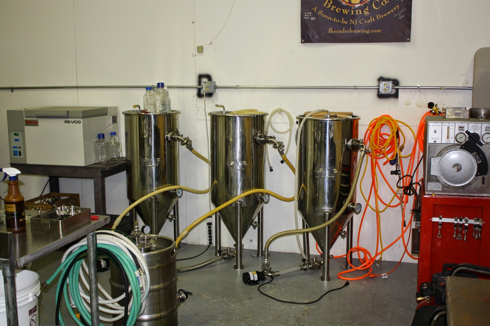 Flounder Brewing, Craft Beer, New Jersey Craft Beer, Brewery Tour