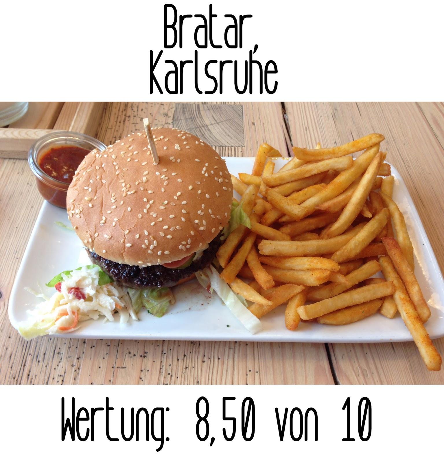 Germanys Best Burger Bratar Karlsruhe