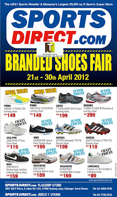 SportsDirect.com Branded Shoes Fair