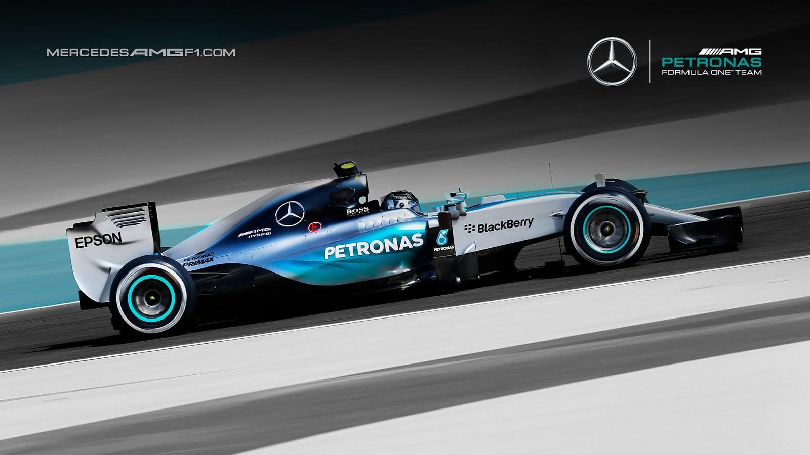 Mercedes amg petronas w08 wallpaper 5