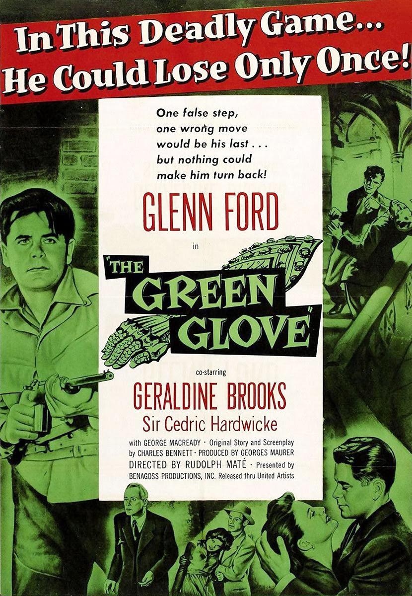 Portada película El guantelete verde