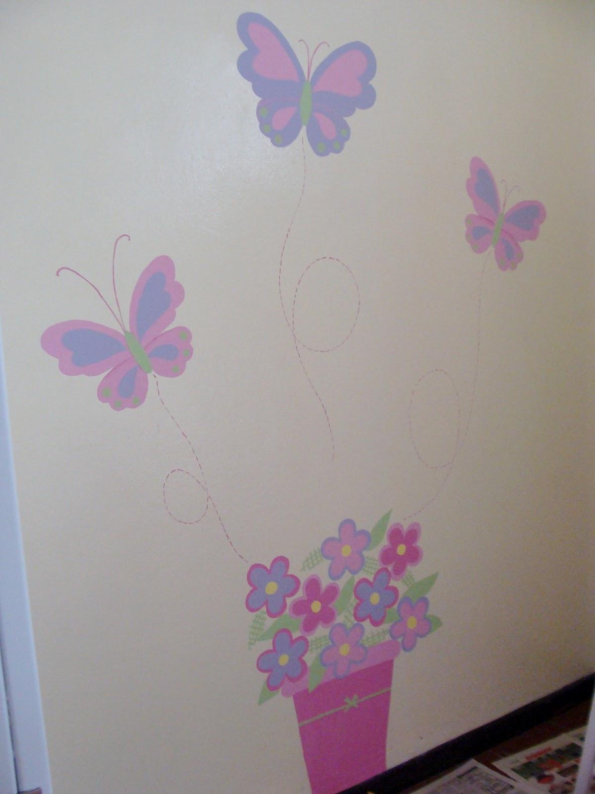 murales creativos heidy guerrero mural de flores y ForMural De Flores Y Mariposas
