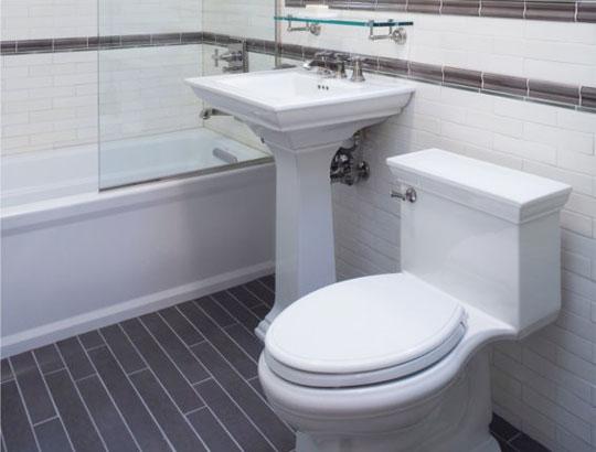 The Overwhelmed Home Renovator: Bathroom Remodel: Subway