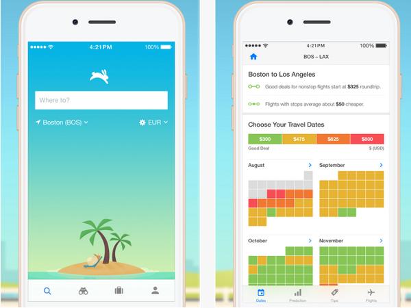 Hopper, app para iOS