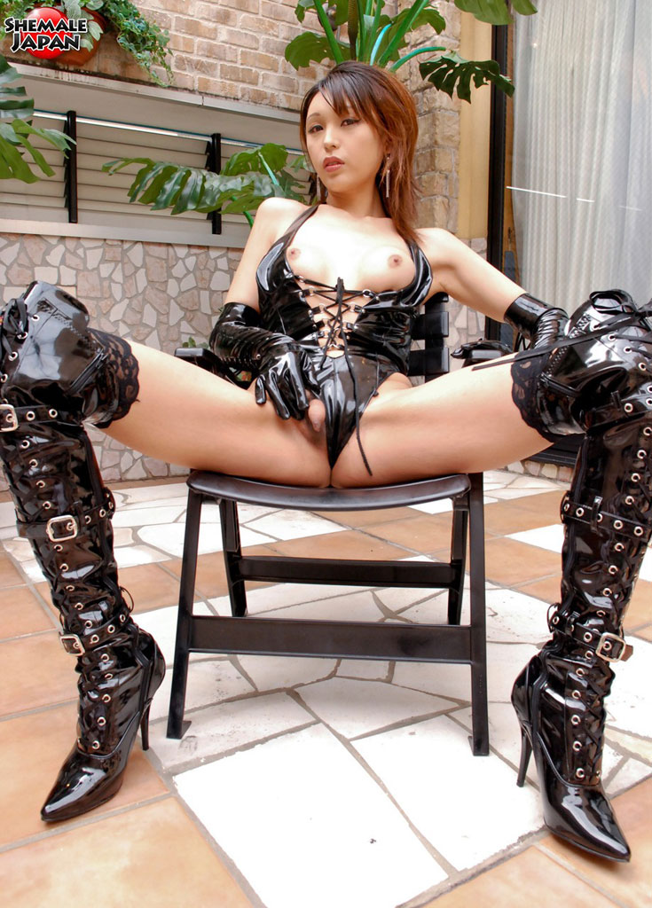 Japanese latex fetish
