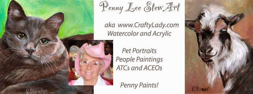 Penny Paints, Penny Lee StewArt aka Craftylady.com