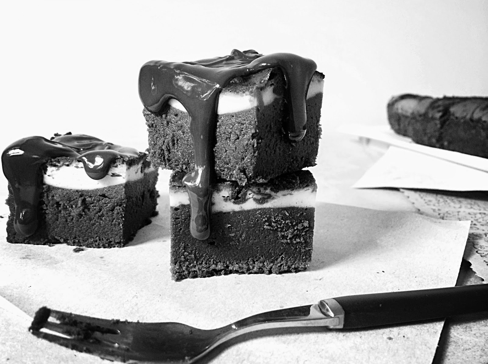 Cheesecake Brownies de Rose Bakery