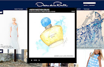 "SANDY M FOR THE 2013 OSCAR DE LA RENTA ""MY SOMETHING BLUE"" CAMPAIGN"