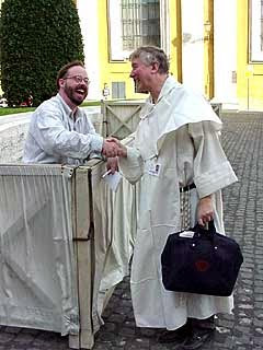 John Allen Jr and Fr Timothy Radcliffe