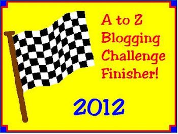 2012 A-Z Challenge Finisher