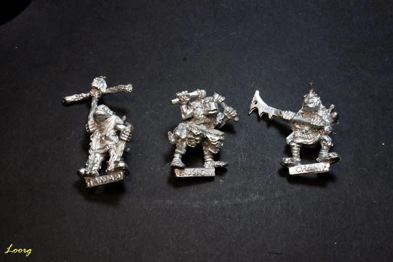 Grupo de mando de los RRD3 - Harboth's Orc Archers