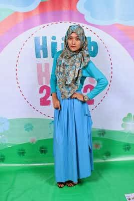 indah fajariska inspirasi jilbab remaja