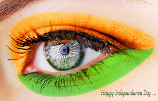 Eye independence flag of Indian Independence Day-2013 Wallpapers, Greetings
