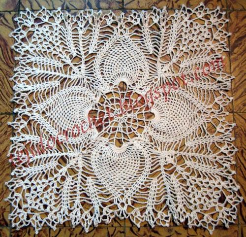 Carpetas rectangulares tejidas a crochet - Imagui