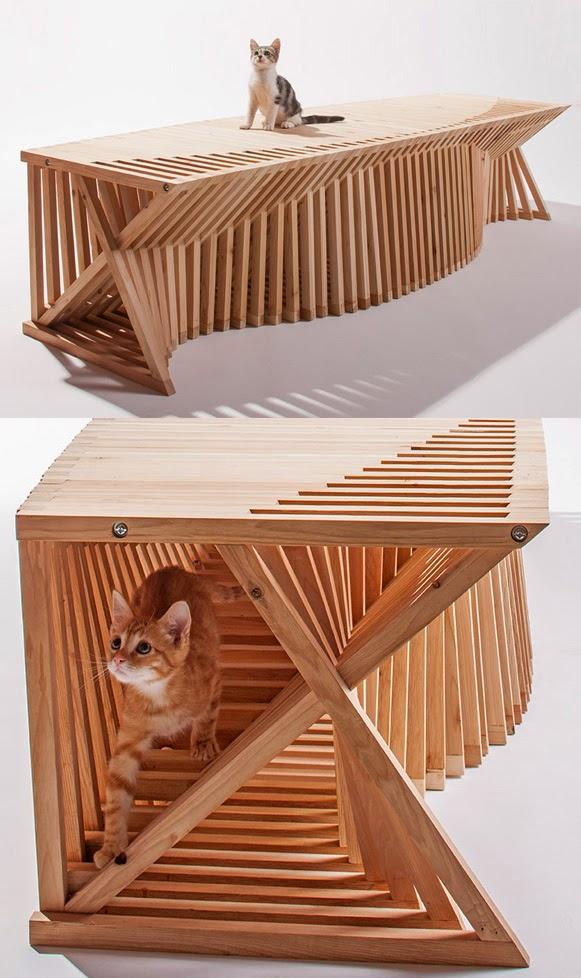 Casas de gatos bem legaus - Casas para gatos baratas ...