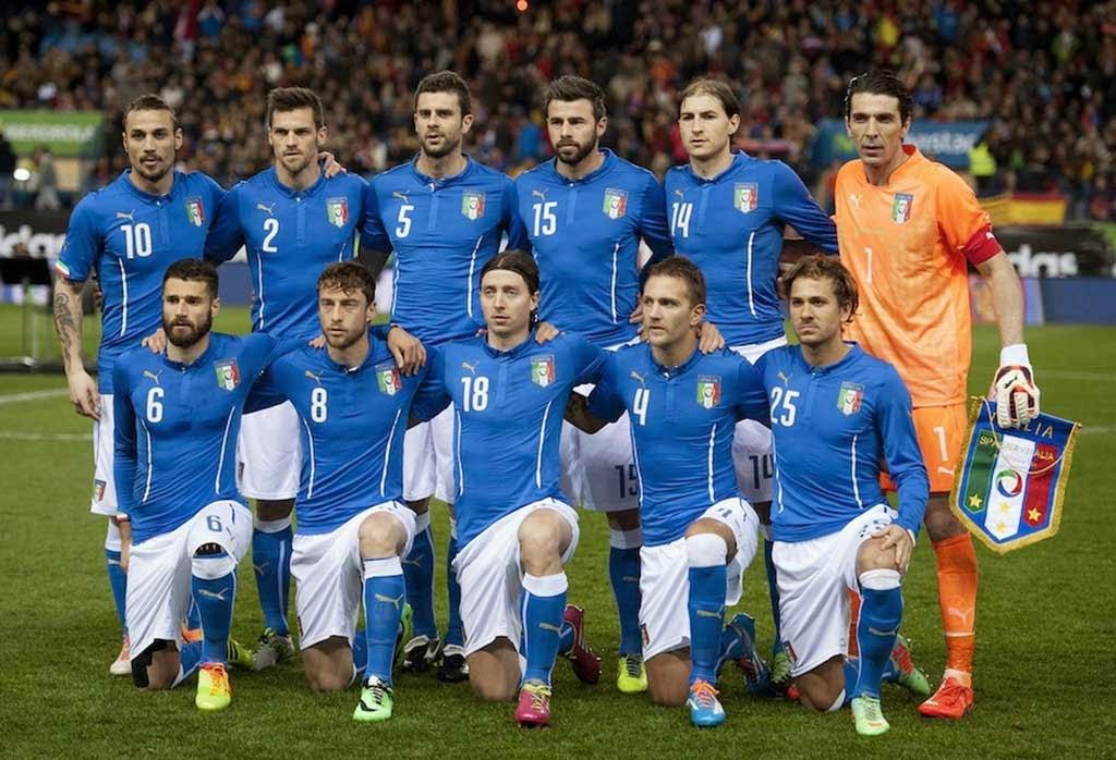 Национален отбор по футбол на Италия