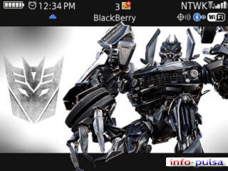 Transformers - BlackBerry Theme