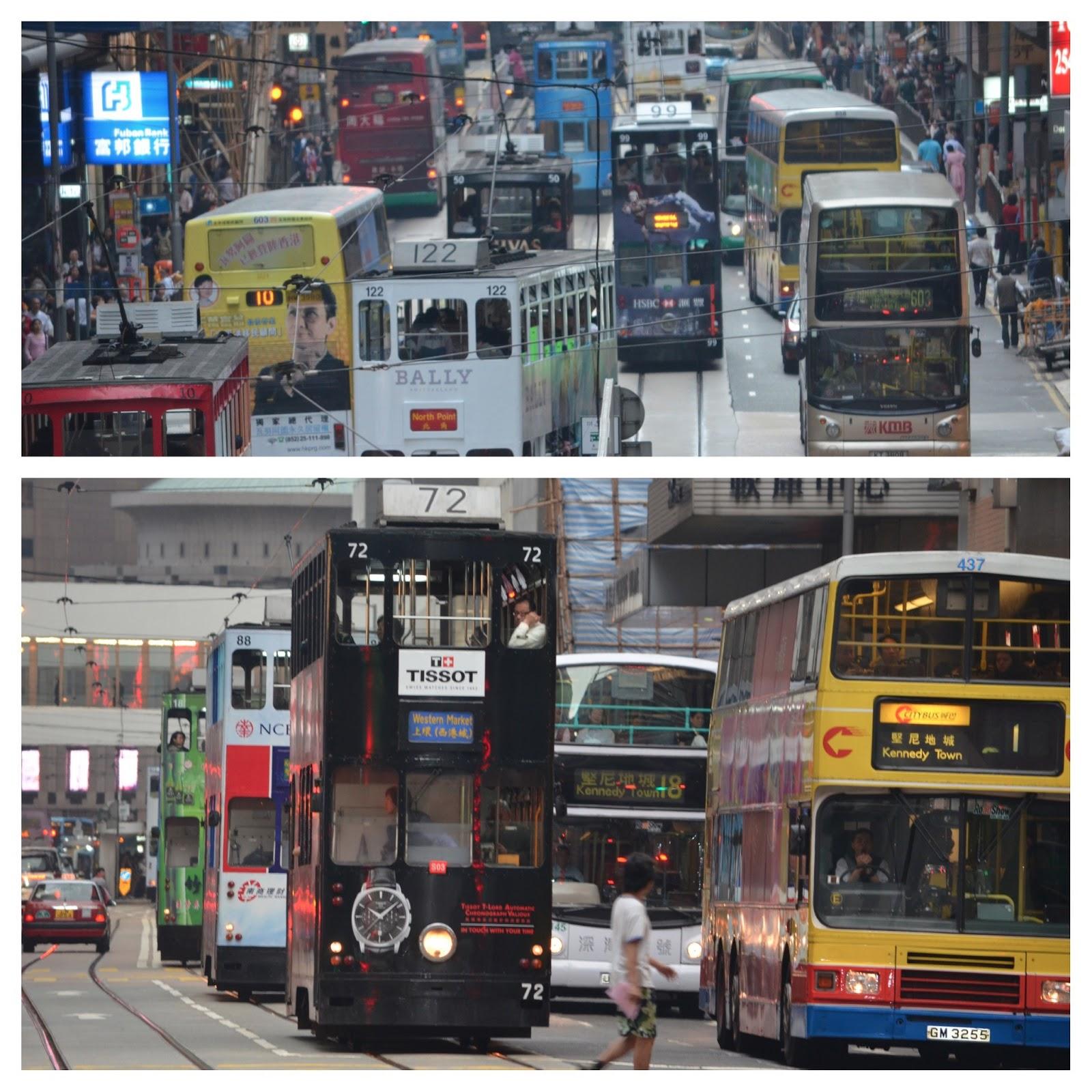 how to take the hong kong tram