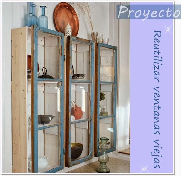 Reciclar reutilizar ventanas viejas for Puertas para reciclar