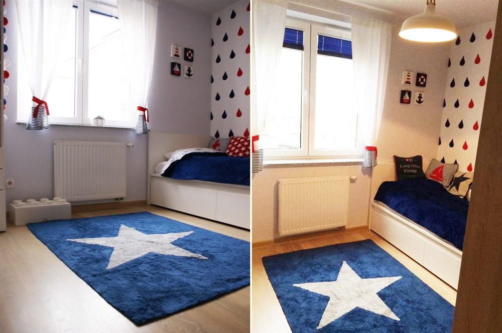pokój w stylu marine, pokój marynarski, pokój marinistyczny