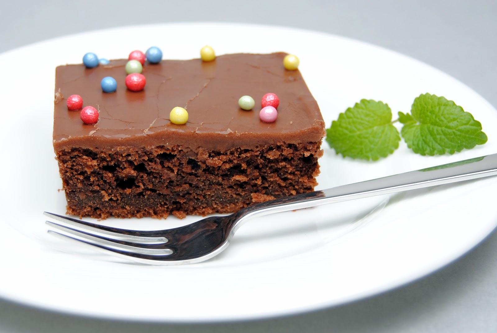 hva med en saftig sjokoladekake til.