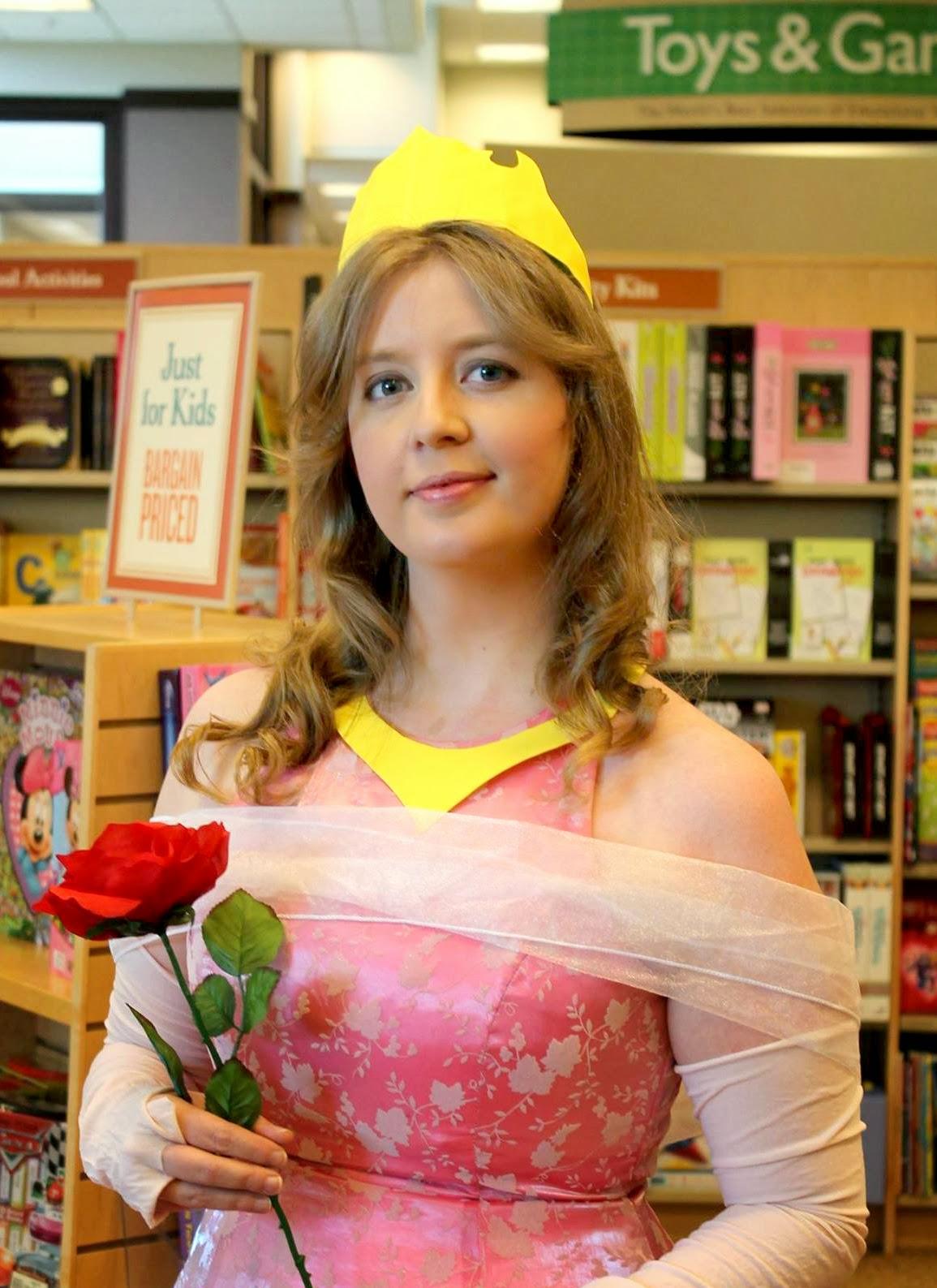 DIY Aurora Sleeping Beauty costume