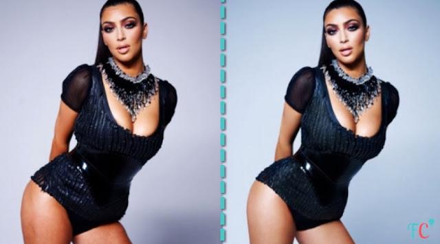 Kim-Kardashian black dress style