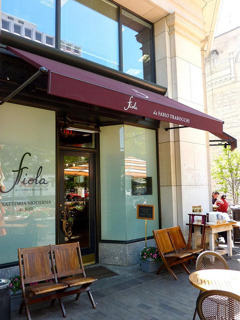 Menus - Fiola Mare Restaurant