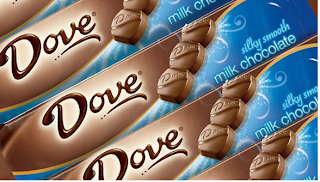 .25cents Dove Chocolate Bars
