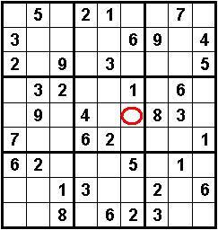 Schema vuoto per sudoku