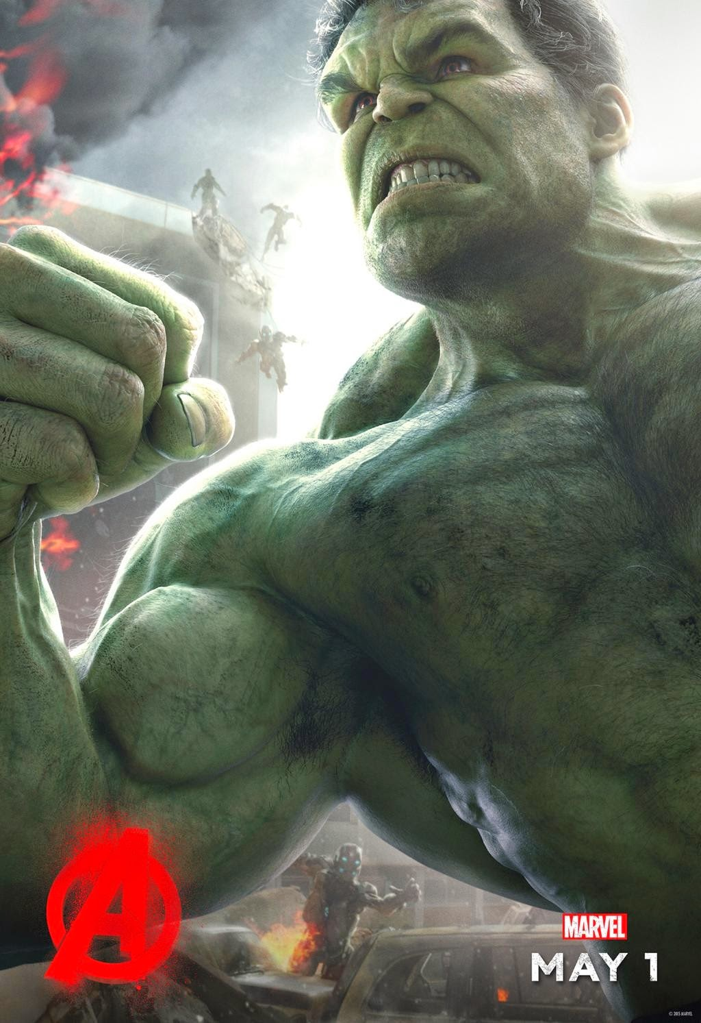Marvel's Avengers Age of Ultron Character Movie Poster Set - Mark Ruffalo as Hulk