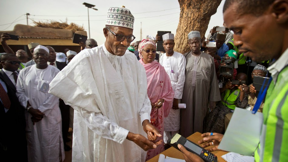 Nigerian Presidential Election results
