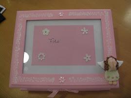 Mais uma Caixa de Lembranças de Nascimento para uma Princesa linda!