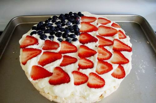 4th of July Pavlova Stars and Stripes