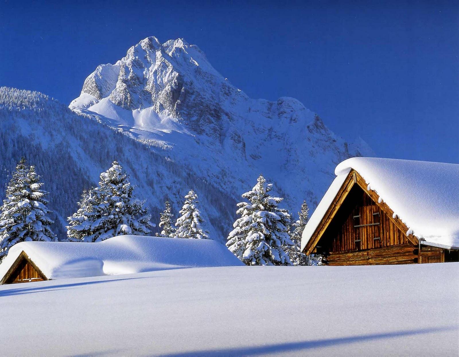 Hintergrundbilder Winterlandschaften - Kaminfeuer 3D: Gratis Vollversion zu Weihnachten CHIP