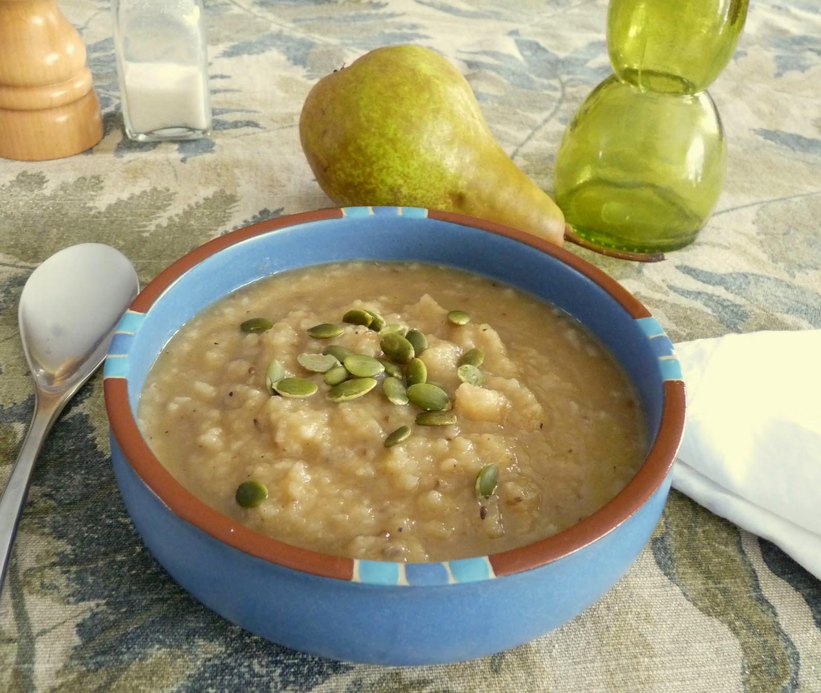 Spiced Squash & Pear Soup